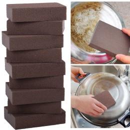 Carborindón cepillo esponja para cocina herramienta de lavado óxido limpiador de limpieza cocina hogar óxido limpiador de limpie