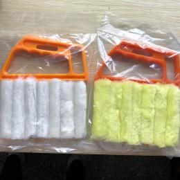 1 unidad de cepillo de limpieza de ventana portátil lavable Herramientas de limpieza para el hogar cepillo ciego veneciano de mi
