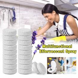 20 piezas agua producto de limpieza efervescente y multifuncional para aerosol vidrio concentrado limpiador hogar inodoro suelo
