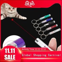 1 Uds. Divertido mascota LED láser mascota gato juguete 5MW punto rojo juguete con luz láser vista láser 650Nm puntero láser plu