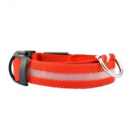 2019 Transer creativo cuello de Mascota de seguridad caliente para el cuello iluminado de Nylon LED para perro Collar de brillo