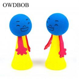 OWDBOB 2 unids/set salto divertido juguete para gato mascota juguete para rebote cachorro gatito juguetes para jugar pelotas de