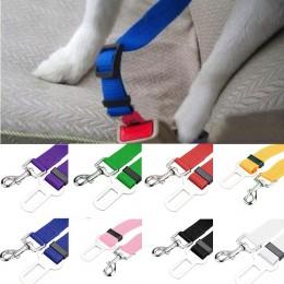 Perro y cinturón de seguridad nuevo vehículo cinturón de seguridad de coche Clip de plomo mascota gato perro seguridad Laisse Ch