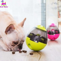 Juguete interactivo para perros, gatos, comida, cuenco, juguete divertido para mascotas, sacudida, fuga, contenedor de alimentos