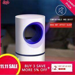 Luz ultravioleta de bajo voltaje, Lámpara USB matadora de mosquitos, ahorro de energía seguro, luz fotocatalítica eficiente anti