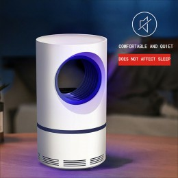 Lámpara eléctrica para matar mosquitos luz UV repelente moscas trampa 5W USB de ahorro de energía Control de Plagas Anti moustiq