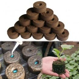 1/5/10 Uds. Bloque de suelo para niños jardín flores para plantar el bloque de suelo planta plántulas Turba para cultivar bloque