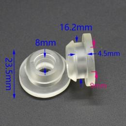 Anillo de sello de jardín, anillo de goma, cinta de goteo, adaptador de válvula de riego por goteo, 8 Uds.
