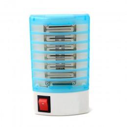 220V enchufe electrónico de EE. UU. De la UE, lámpara antimosquitos, repelente de mosquitos, Mosca, mata insectos, trampa para m