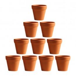 10 Uds. Mini maceta de terracota de arcilla maceta de cerámica macetas de Cactus macetas de flores suculentas macetas de guarder