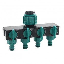 """1/2 """"-3/4""""-1 """"adaptador de manguera de irrigación conectores de manguera de agua de 4 vías conectores de rosca hembra estándar e"""