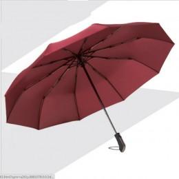 Resistente al viento tres Paraguas automático plegable lluvia mujeres Auto lujo grande a prueba de viento paraguas hombre marco