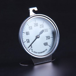 0-400 grados de alto grado gran horno acero inoxidable especial termómetro de medición termómetro herramientas para hornear