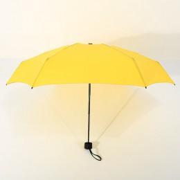180g pequeño paraguas plegable de moda lluvia mujeres regalo hombres Mini Parasol de bolsillo niñas Anti-UV impermeable paraguas