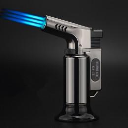 Encendedor de barbacoa al aire libre linterna de cigarro Turbo encendedor Jet cigarrillo gas butano 1300 C PISTOLA DE PULVERIZAC