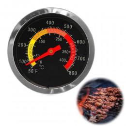 Nuevo termómetro de parrila ahumadora para barbacoa de acero inoxidable medidor de temperatura 10-400grados Celsius