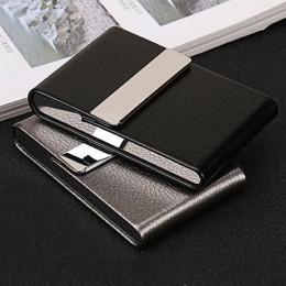 Accesorios para fumar caja de cigarrillos 1 caja de almacenamiento de cigarros de acero inoxidable cajas de tarjetas multifunció