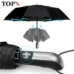 Paraguas de lluvia automático resistente al viento para hombre 3 paraguas plegable para regalo compacto para grandes viajes de n
