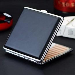 Estuche de cuero de alta calidad para cigarrillos, 20 piezas, caja de regalo para hombres, caja de cigarros para hombres, Gadget