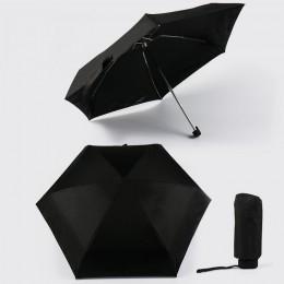 Mini paraguas de bolsillo protección solar moda plegable paraguas de lluvia regalo femenino niñas Anti-UV impermeable paraguas d