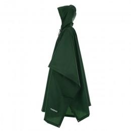 3 en 1 mochila con chubasquero cubierta de lluvia capucha de senderismo ciclismo cubierta de lluvia Poncho impermeable tienda de