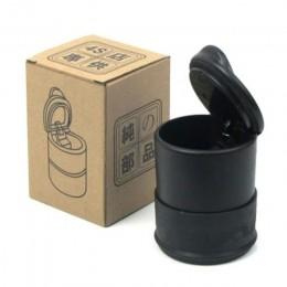 Cenicero de coche de alta temperatura Cenicero portátil para automóvil hogar oficina sin humo Cenicero de cigarrillos cilindro C