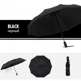 Paraguas plegable Automático Doble A Prueba de viento mujer hombre diez huesos coche lujo grandes paraguas de negocios hombres l
