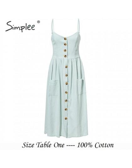 Simplee elegante botón mujeres vestido de bolsillo polka puntos amarillo algodón midi vestido de verano casual Mujer talla grand