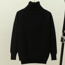 Suéter de mujer con cuello de tortuga de gigogogou suéter de Invierno para mujer