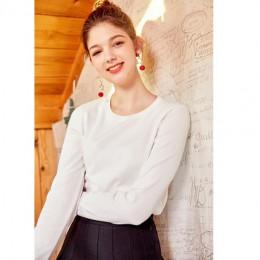 SEMIR 2019 cachemir suéter tejido mujer pulóveres cuello alto Otoño Invierno mujeres básicas suéteres estilo coreano Slim Fit ne
