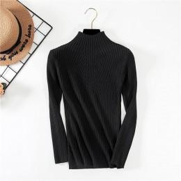 Nuevo suéter de cuello de tortuga para mujer Jersey de moda para mujer invierno 2019 otoño suéter para mujer Jumper Truien Dames