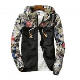 Chaquetas con capucha para mujer 2019 primavera flores Causal rompevientos chaquetas básicas para mujer chaquetas ligeras con cr