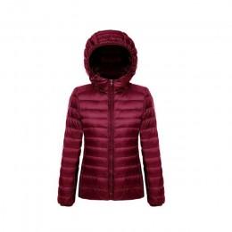 De talla grande 5XL 6XL 7XL chaqueta de invierno de plumón para mujer prendas de vestir de invierno abrigo cálido ultraligero bl