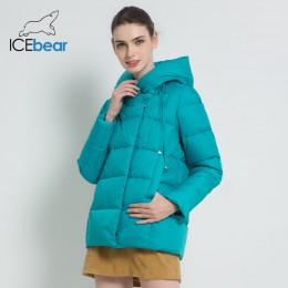 Notice aviso de llegada: llegada el 25 de octubre. Iceicebear 2019 nuevo abrigo de invierno para mujer ropa de marca Casual chaq