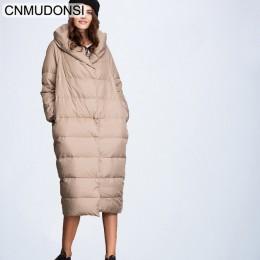CNMUDONSI chaqueta de moda invierno de mujer, abrigo grueso de señora, chaqueta parka de algodón, chaqueta larga, chaqueta femen