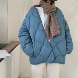 Alien Kitty invierno moda Outwear chaquetas casuales Tops sólidos todo-fósforo Simple fresco cálido mujeres abrigo suelto grueso