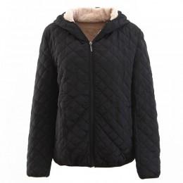 Johnature 2019 primavera 10 Color chaquetas básicas para mujer abrigo con cremallera de lana para mujer ropa suelta Parkas de ta