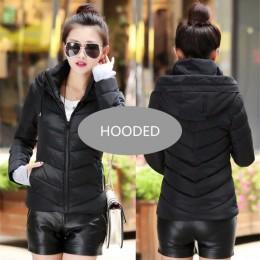 2019 nuevo abrigo de moda para mujer chaqueta de invierno Chaqueta corta wadded chaqueta femenina acolchada parka abrigo de muje
