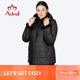 Chaqueta de Invierno para mujer, abrigo corto con capucha, talla grande, puños calientes, chaqueta de mujer peluda, ropa de CRIN