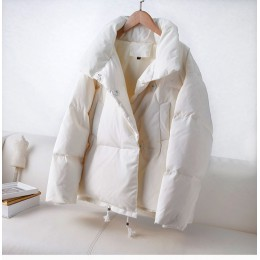 YVYVLOLO chaqueta otoño invierno abrigo de mujer 2019 moda mujer soporte chaqueta de invierno Parka mujer Casual cálido Plus tam