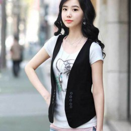 MS primavera nuevo coreano todo-fósforo Delgado traje chaleco/Pequeño chaleco tamaño vestido femenino