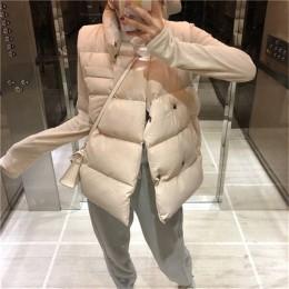 RUGOD Casual sólido doble Breasted Chaleco de algodón Mujer chaleco sin mangas a prueba de viento chaquetas calientes chaleco fe