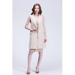 Bella Philosophy 2019 nueva moda chaleco mujer sin botón negro chaqueta mujer sin mangas chaqueta blazer blanco casual outwear