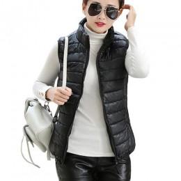 Talla grande otoño invierno abrigo mujeres señoras Gilet Colete Feminino chaleco Casual mujer chaleco sin mangas de algodón chaq