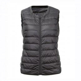 NewBang marca 6XL 7XL Chaleco de talla grande chaleco cálido de mujer Ultra ligero abajo chaleco mujeres portátil sin mangas inv