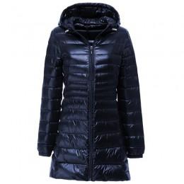 Chaqueta de plumón para mujer a estrenar chaquetas de invierno para mujer larga luz blanca pato abajo chaqueta 5XL 6XL 7XL ultra