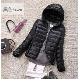 SEDUTMO invierno talla grande 4XL Chaquetas cortas de plumón de pato ultraligero Abrigo con capucha Puffer chaqueta otoño Parkas