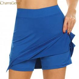 Falda de Skorts activa de rendimiento faldas de tubo de talla grande para mujer para correr tenis Golf entrenamiento deportes Na