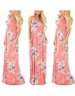 2019 Vestido largo de verano con estampado Floral bohemio Vestido de playa túnica Maxi vestido de fiesta de noche para mujer Ves