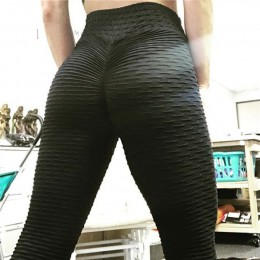 Leggings Push Up Sexy de cintura alta elásticos de punto de LICRA Leggings para mujer Fitness Jeggings Legging Pantalones de muj